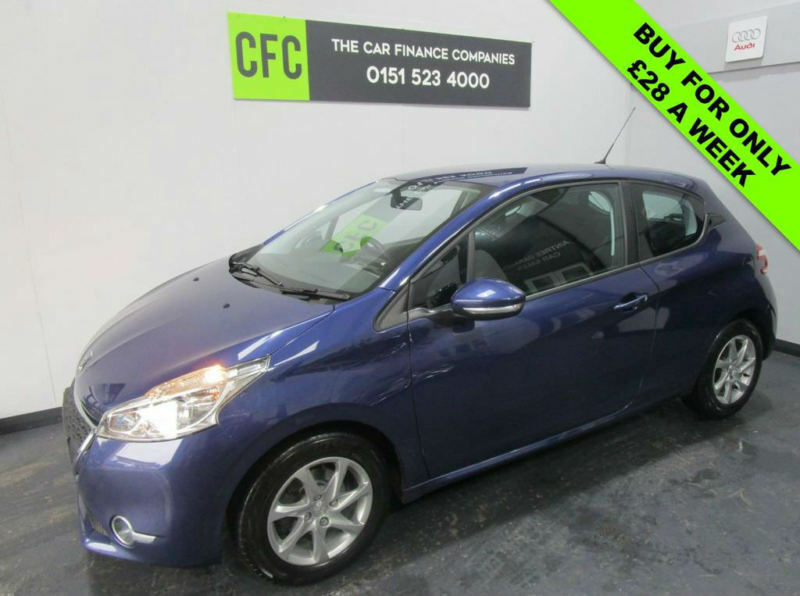 2014 Peugeot 208 1.4HDi 70 FAP Active BUY FOR £28 A WEEK *FINANCE ...
