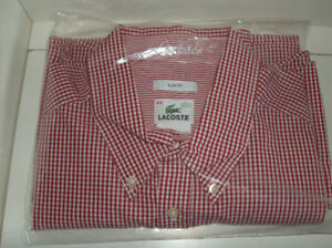 XXL  2 NEW Men's Shirts - LaCoste & American Eagle