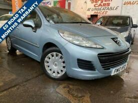 image for 2010 10 PEUGEOT 207 209 HDI LOW INSURANCE AND LOW TAX BAND + £0 ROAD TAX W