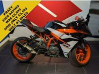 2018 18 KTM RC 390 ***ONLY 63 MILES***