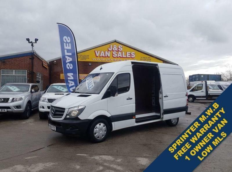 2ea6dae2a8 2015 65 MERCEDES-BENZ SPRINTER 2.1 313 CDI MWB 136 BHP + COMMS PACK UNDER  BENZS
