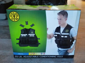 Brand New Golds Gym 20lbs Fitness Conditioning Weight Vest