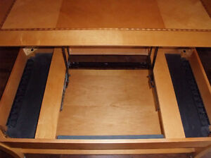 Palliser wood coffee table with lift top