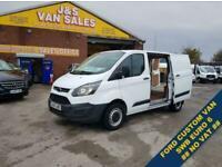 2017 Ford Transit Custom T290 SWB EURO 6 1 OWNER VAN F.S.H NO VAT PANEL VAN Di