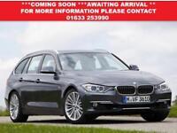 2014 64 BMW 3 SERIES 2.0 320D XDRIVE LUXURY TOURING 5D 181 BHP DIESEL