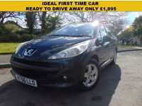 LOVELY 2007 PEUGEOT 207 1.4 16V 90 SE IDEAL FIRST TIME CAR OCTOBER 2018 MOT