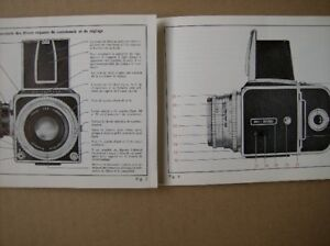 HASSELBLAD,500C/M USER BOOK,in FRENCH only