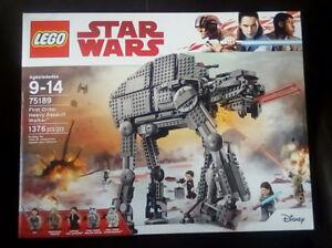 LEGO Star Wars 75189 First Order Heavy Assault Walker (Sealed)