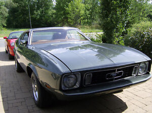 Ford Mustang Sportsroof (Fastback) 1973
