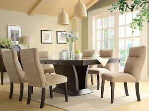 Brand New 7 pce Avery Dining Suite ( Extension Dining Table ) Wangara Wanneroo Area Preview