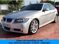 2006 BMW 325D M SPORT 3.0 FULL SERVICE HISTORY 2 KEYS LONG MOT 195 BHP DIESEL