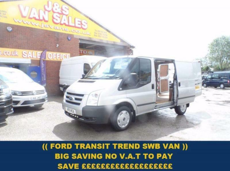 2011 11 FORD TRANSIT FORD TRANSIT TREND 1 OWNER ((( NO V.A.T TO PAY ))) DIESEL