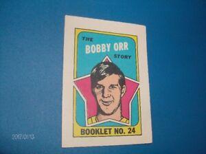 "1971-1972 O-PEE-CHEE BOBBY ORR "" STORY BOOK "" INSERT !!!!"