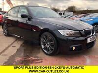 2011 11 BMW 3 SERIES 320D 2.0 SPORT PLUS EDITION + M SPORT 4DR AUTO 181 BHP-SAT