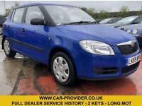 2009 SKODA FABIA 1 HTP 1.2 FULL DEALER SERVICE HISTORY 2 KEYS LONG MOT 59 BHP