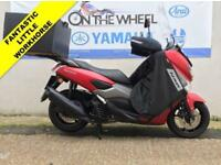 2017 67 YAMAHA GPD125-A NMAX 125 ABS ANODIZED RED! *** PIZZA BOX - HIGH SCREEN -