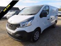 2016 66 RENAULT TRAFIC SL27 BUSINESS DCI SWB 2035 MILES ONLY AIR CON DIESEL