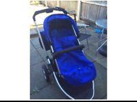 Baby pushchair all in one b69 1ay in Oldbury