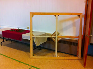 Stretcher / canvas, 5'x5', ideal for artist or as lumber