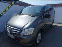 2015 15 MERCEDES-BENZ VITO 2.1 116 CDI DUALINER 1D 163 BHP SPORT LONG WHEEL BASE