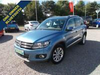 2012 62 VOLKSWAGEN TIGUAN 2.0 SE TDI BLUEMOTION TECHNOLOGY 4MOTION 5D 138 BHP DI