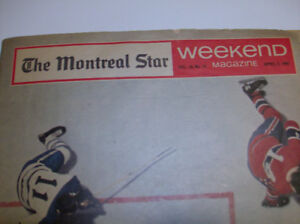 The Montreal Star 2 avril 1966 Weekend magazine