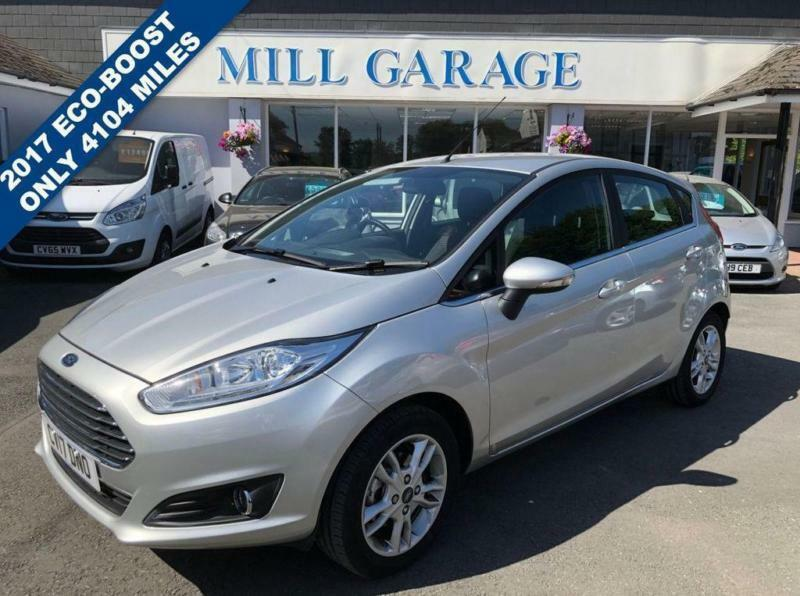 2017 17 Ford Fiesta 1 0 Zetec 5d 100 Bhp Eco Boost With Nav In