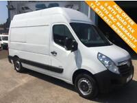 2013 63 VAUXHALL MOVANO 2.3 CDTI F3500 L2H3 MWB EXTRA HIGH ROOF *IDEAL CAMPER* D