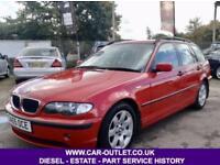 2005 BMW 320D SE 2.0 DIESEL TOURING LONG MOT FULL SERVICE HISTORY