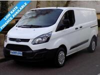 14(14) FORD TRANSIT CUSTOM 270 SWB L1H1 LOW ROOF 2.2 FWD 100BHP 6 SPEED EURO 5