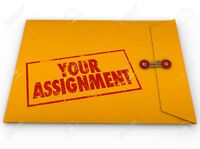 Assistance in Assignments and Projects