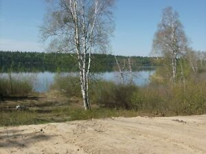 LAKEFRONT LOT AT COWAN LAKE FOR SALE!