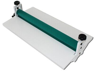25in Manual Cold Laminator Roll Mount Laminating Machine Foldable Photo Film Us