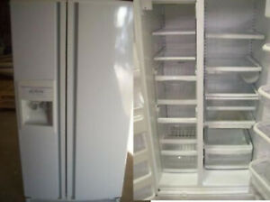 Refrigerator Side by Side Water + Ice DURHAM APPLIANCES LTD.