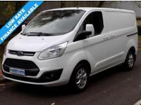 14(14) FORD TRANSIT CUSTOM LIMITED 270 SWB L1H1 LOW ROOF 2.2 FWD 125BHP 6 SPEED