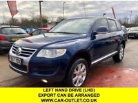 2018 57 VOLKSWAGEN TOUAREG 3.2 V6 AUTOMATIC-LEFT HAND DRIVE-LHD-EXPORT WELCOME