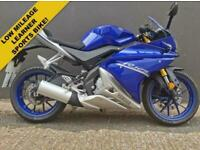 2017 17 YAMAHA YZF 125CC ABS - ***ONLY 1465 MILES FROM NEW!***