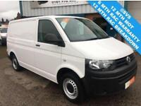 2014 14 VOLKSWAGEN TRANSPORTER 2.0 TDI 102 BHP IDEAL CAMPER OR DAY VAN CHOICE OF