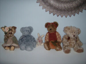 Collection de peluches