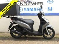 2015 65 HONDA NSC 110 VISION GREY - PIZZA DELIVERY BOX!!!