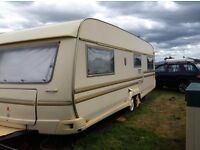 Tabbert baronesse 685 Year 2000 full size bed 5 berth not hobby lmc fendt Roma but 8ft wide