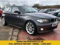 2006 BMW 118D SE FULL SERVICE HISTORY LONG MOT 2.0 5DR 121 BHP DIESEL