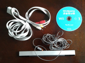 Senseur wii / cable composite / wii sports