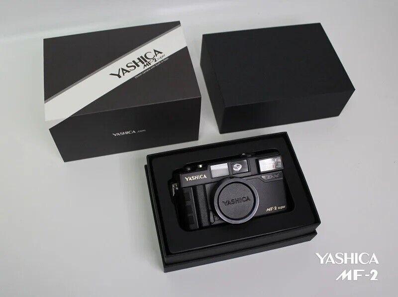 как выглядит NEW YASHICA MF-2 Super 35mm Rangefinder Film Camera with Flash фото