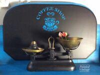 Vintage original kitchen scales