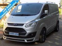 64(14) FORD TRANSIT CUSTOM LIMITED L1H1 270 SWB LOW ROOF 125BHP ST SPORT STYLE