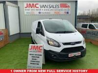 2017 Ford Transit Custom 2.0 340 130BHP 1 OWNER FULL SERVICE HISTORY FULLY FITTE