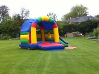 M&H Bouncy Castle Hire Boy Girl Slide Nottingham Derby