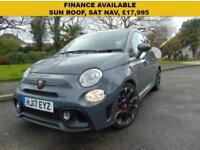 STUNNING 2017 ABARTH 595 1.4 TJET COMPETIZIONE FINANCE AVAILABLE SUPERB DRIVE