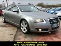 2005 AUDI A6 S-LINE 2.4 AUTO FULLY LOADED LONG MOT PETROL 4DR 174 BHP